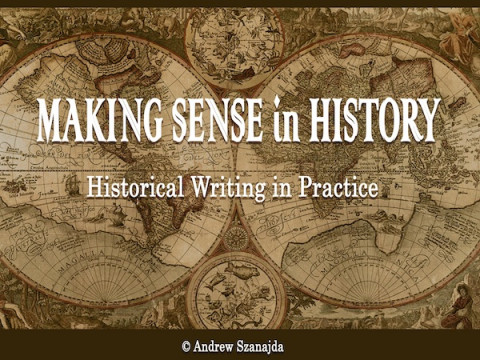 New Release: Making Sense in History