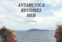 Available Now: Antarctica Becomes Her