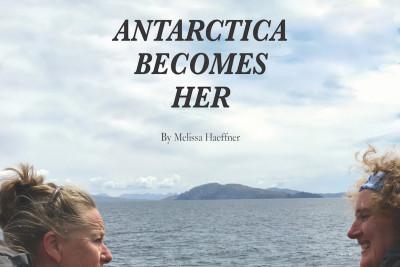 November 1: Antarctica Becomes Her